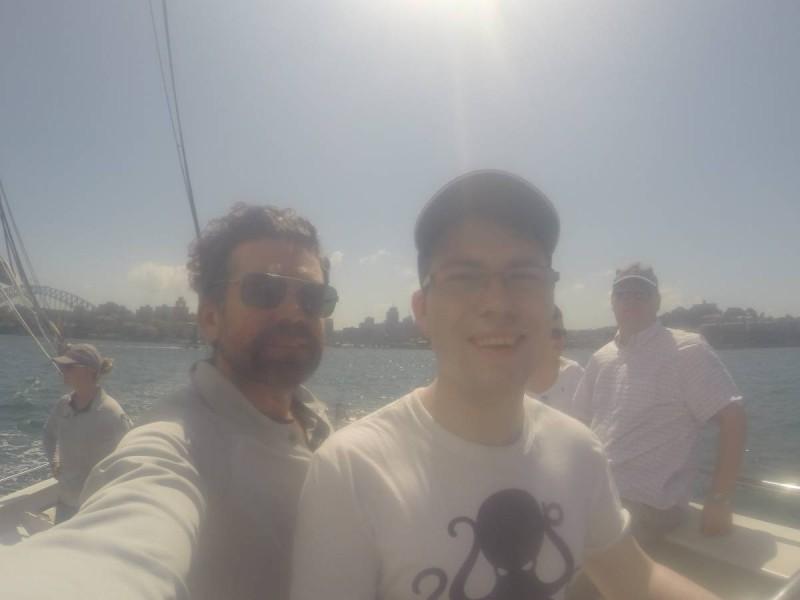 sailing sydney harbour americas cup captain