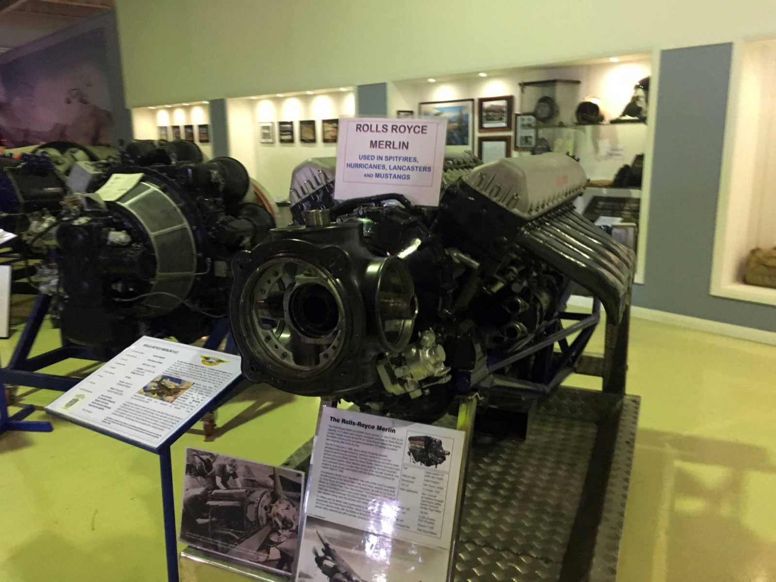 HARS_Museum_Engines_Rolls_Royce_Merlin